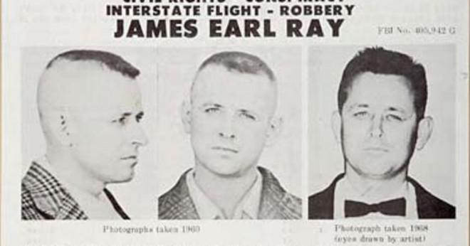 Vad gun använde James Earl Ray att döda Dr Martin Luther King?