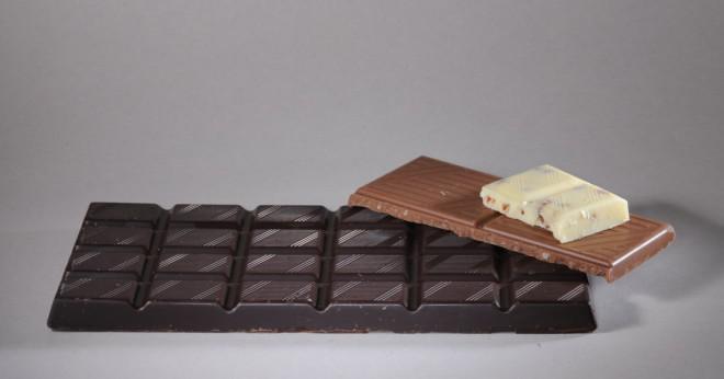 Är bakning choklad och sockerfri choklad samma sak?