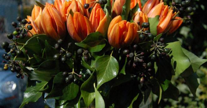 Kan man skicka blommor via en florist online?