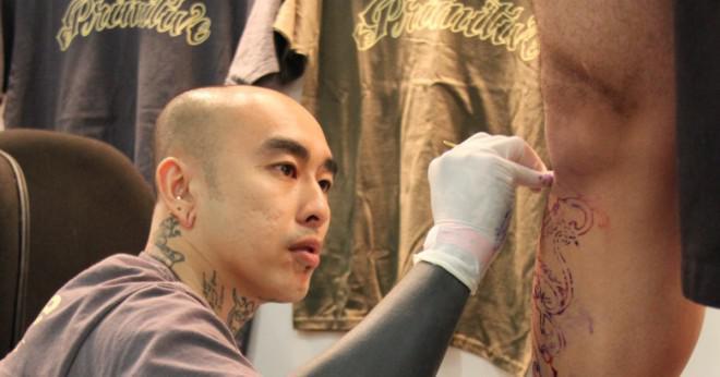 Vatten kommer att skada en ny tatuering?