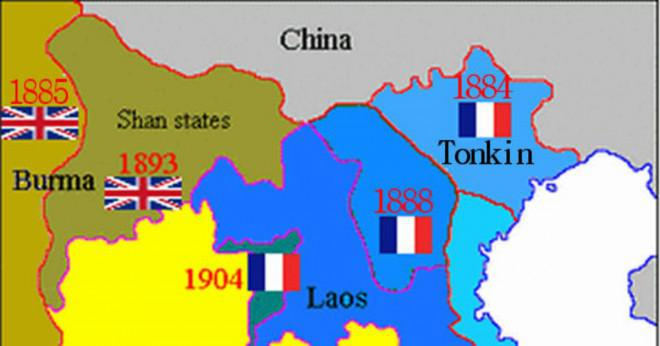 Var koloniseringen en fredlig process mellan fransmännen och vietnamesiska?